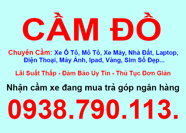 Cầm đồ uy tín lãi suất thấp Quận Bình Tân