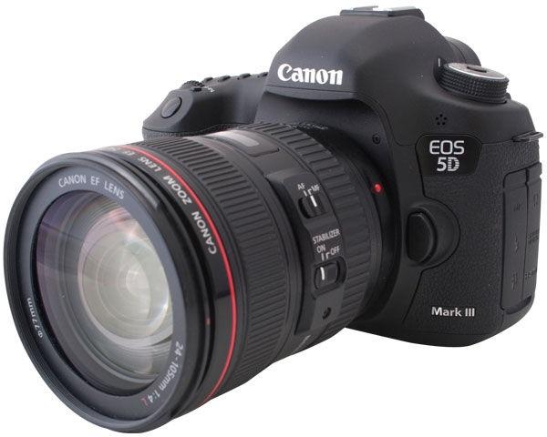 cầm máy ảnh canon