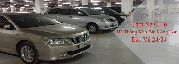 Cầm xe ô tô lãi suất thấp